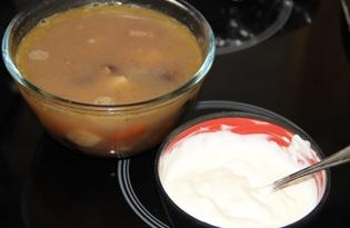 Фасолевый суп с йогуртово-чесночным соусом (пошаговый фото рецепт)
