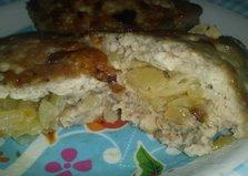 Котлеты с луковой начинкой (пошаговый фото рецепт)