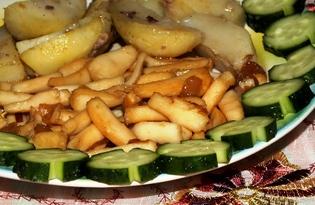 Кальмары по-китайски (пошаговый фото рецепт)