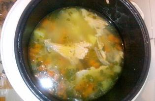 Уха из хребтов красной рыбы (пошаговый фото рецепт)