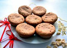 Ореховые кексы с клубникой (пошаговый фото рецепт)