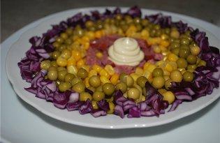 Быстрый салат (пошаговый фото рецепт)