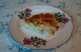 Картофель, запеченный под сыром (пошаговый фото рецепт)