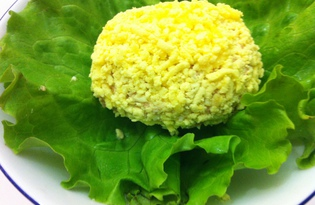 Яйца, фаршированные печенью трески (пошаговый фото рецепт)