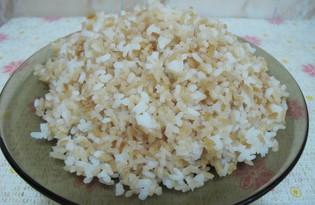 Двухцветный рис (пошаговый фото рецепт)