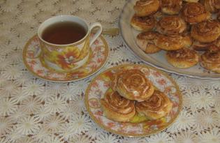 Печенье «Розочки» (пошаговый фото рецепт)