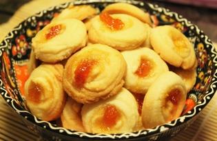"""Печенье """"Курабье"""" (пошаговый фото рецепт)"""