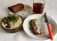 Форшмак из селедки (рецепт с пошаговыми фото)