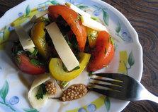 Овощной салат «Листопад» (пошаговый фото рецепт)