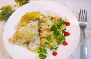 Томленая курица с апельсинами и рисом (пошаговый фото рецепт)