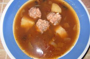 Сельский суп (пошаговый фото рецепт)