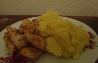 Куриное филе в кляре (пошаговый фото рецепт)