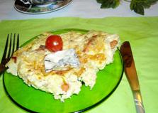 Омлет с кардамоном и сыром Рокфор (пошаговый фото рецепт)