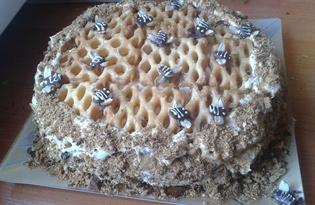 """Торт """"Медовик"""" (пошаговый фото рецепт)"""