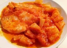 Куриные грудки с ананасом и имбирем (пошаговый фото рецепт)