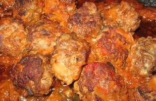 Мясные тефтельки с грибами (пошаговый фото рецепт)