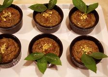 Суфле из лука-порея с грецкими орехами (пошаговый фото рецепт)