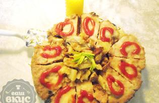 Мясная запеканка с картофелем (пошаговый фото рецепт)