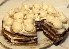 """Торт """"Сметанник"""" (пошаговый фото рецепт)"""