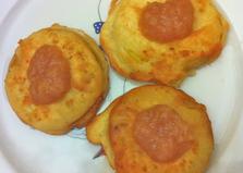 Фруктовые пирожные с яблочным джемом (пошаговый фото рецепт)