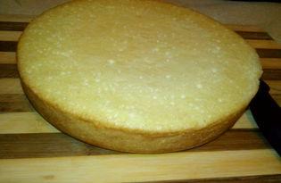 Простой бисквит в мультиварке Delfa (пошаговый фото рецепт)