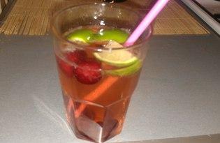 Вишневый мохито (пошаговый фото рецепт)