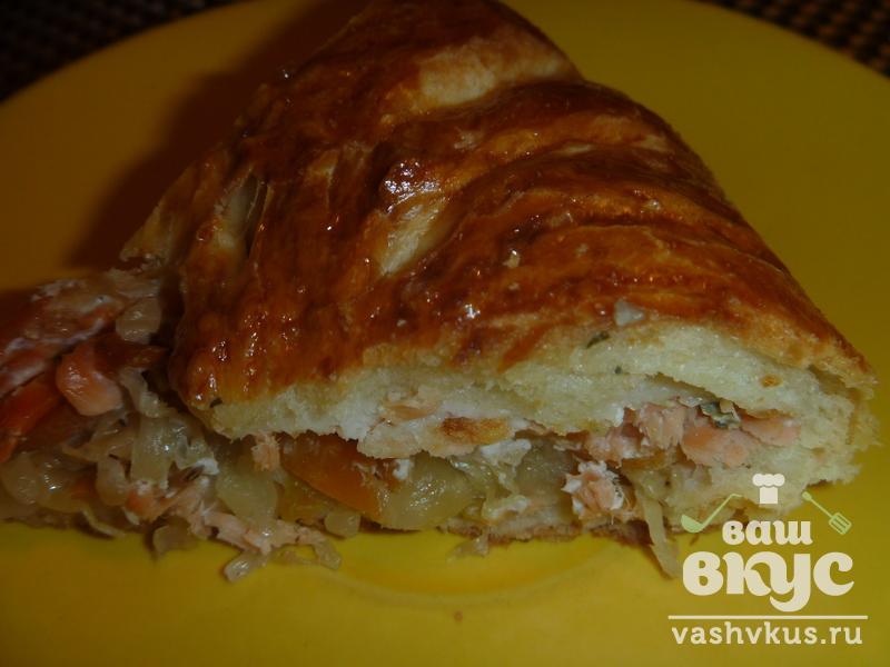 Пирожки из квашеной капусты рецепт