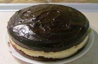"""Торт """"Птичье молоко"""" (пошаговый фото рецепт)"""