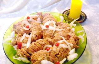 Варёные мясные рулеты (пошаговый фото рецепт)