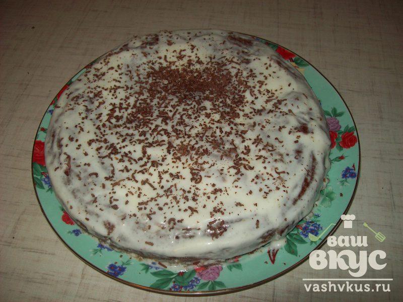 негр рецепт Торт на сметане