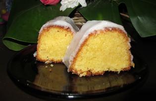Ванильный кекс с сахарной помадкой (пошаговый фото рецепт)