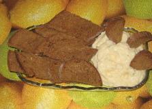 Ржаные сухарики с сырно-чесночным соусом (пошаговый фото рецепт)