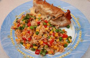 Куриные кармашки с грибами и сыром в мультиварке Redmond M-4502 (рецепт с пошаговыми фото)