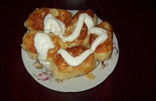 Зразы с сырной начинкой в мультиварке (пошаговый фото рецепт)