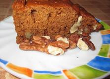 Медовая коврижка с орешками (пошаговый фото рецепт)
