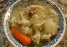 Суп из пельменей (пошаговый фото рецепт)