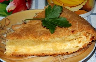Ленивый пирог-хачапури (пошаговый фото рецепт)