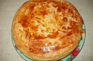 Сытный пирог (пошаговый фото рецепт)