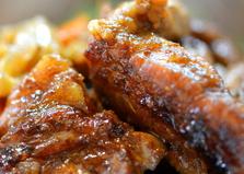 Шашлык свиной на сковороде в соево-имбирном соусе  (пошаговый фото рецепт)