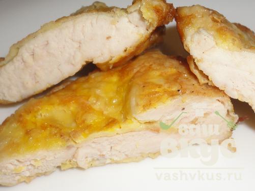 отбивные с куриной грудки рецепт с фото