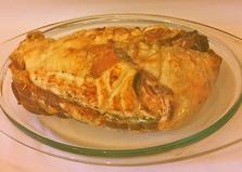 Рулет из подчеревка с тыквой и шпинатом (пошаговый фото рецепт)