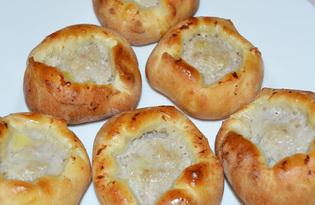Печеные беляши (пошаговый фото рецепт)