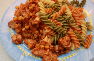 Куриное филе по-мексикански в мультиварке Redmond M-4502 (рецепт с пошаговыми фото)