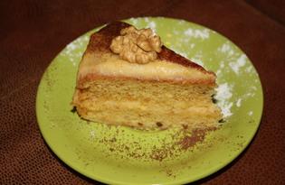 Торт с апельсиновой цедрой в мультиварке (пошаговый фото рецепт)