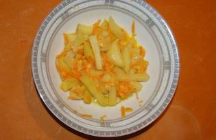 Тушеная картошечка с сыром на пару (пошаговый фото рецепт)