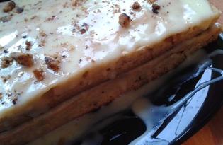 Ореховый пирог (пошаговый фото рецепт)