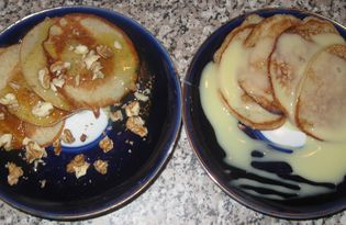 Оладьи из банана (пошаговый фото рецепт)