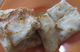 Блины с бананом и медом (пошаговый фото рецепт)