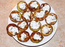 Жареные кабачки с маскарпоне (пошаговый фото рецепт)