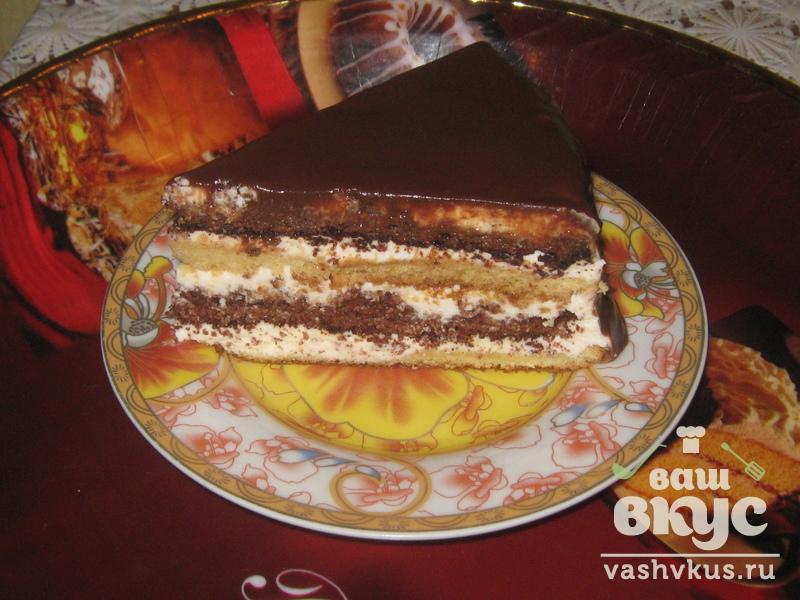 День и ночь торт классический рецепт